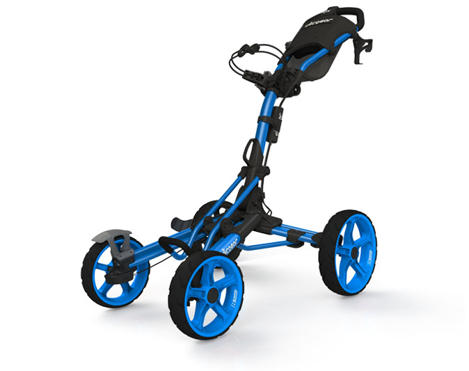 Clicgear Pushcart All blue